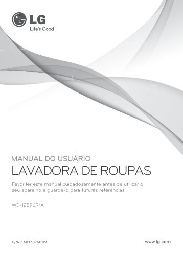 LAVADORA DE ROUPAS - condomínio summer park bloco h