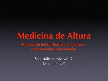 Medicina de Altura - Seminario de Medicina de Montaña