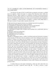 ATA DA ASSEMBLEIA GERAL EXTRAORDINÁRIA DO ... - Logoserv