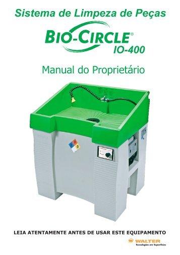 Sistema de Limpeza de Peças - Bio-Circle