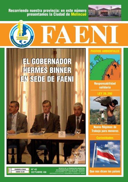 Recorriendo Nuestra Provincia - FAENI