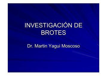 INVESTIGACIÓN DE BROTES - EPIREDPERU