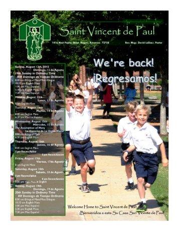 Ann Morrison - Saint Vincent de Paul Catholic Community