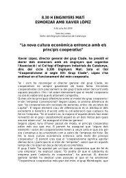 Nota de premsa - Enginyers Industrials de Catalunya