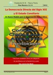 Proyecto Concilios Ciudadanos Argentino - fundacion huluman ...