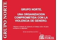 Presentación Miguel Garcia, Grupo Norte Chile - Facultad de ...