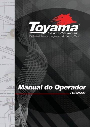 Manual do Operador - Toyama