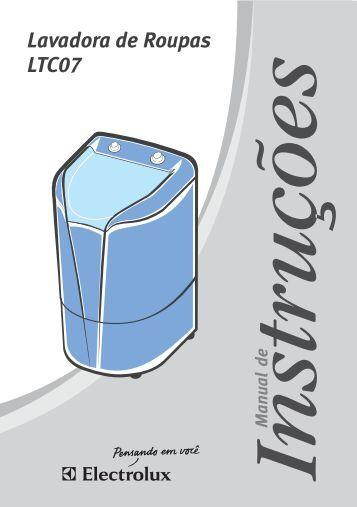 2. Descrição da Lavadora - Colombo