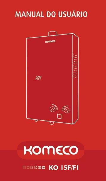 Manual de uso - Komeco