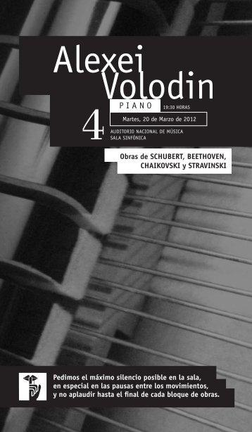 Programa en formato PDF - Fundación Scherzo