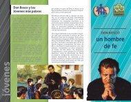 Tríptico Don Bosco, un hombre de fe.pdf - Salesianos Triana