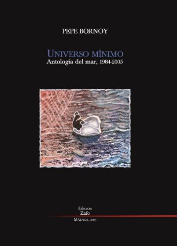 Universo Mínimo, Antología del Mar - Bornoy, Pepe
