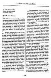 Carta a Juan Vicente Melo Sr, Juan Vicente Melo
