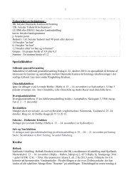 Forkortelser og forklaringer : - Danmarks Kaninavlerforening