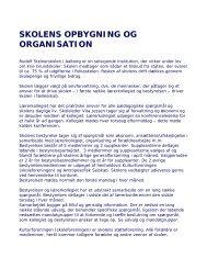 Information-til-foraeldrene - Østskolen, Waldorfskolen i Aalborg