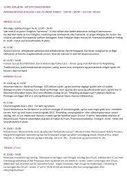 75 års jubilæum - aktivitetskalenderen - Grundejerforeningen Vejers ...