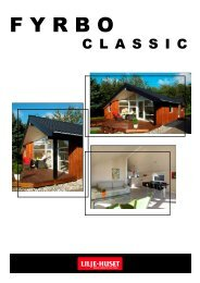 Fyrbo Classic inkl. Prisliste 14FV (Vest for Storebælt - Lilje-huset A/S