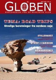 TEMA: ROAD TRIPS - De Berejstes Klub