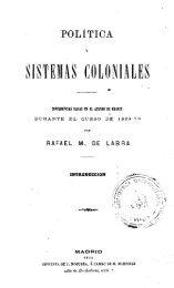 SISTEMAS COLONIALES - Biblioteca de Historia Constitucional