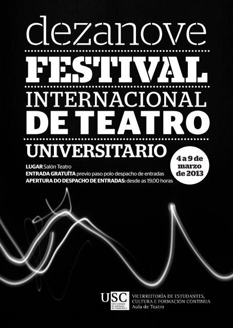 programa 19º festival