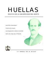 huellas - Universidad del Norte
