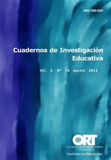 Cuadernos de Investigación Educativa - Denise Vaillant