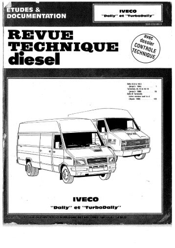 Iveco daily t Turbo daily toutes versions sauf 4x4 - Mercotribe.net