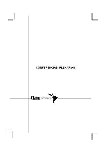 conferencias plenarias - Comite Latinoamericano de Matematica ...