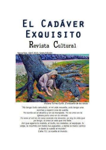 El Cadaver Exquisito - 6º Edicion - Abril 2013