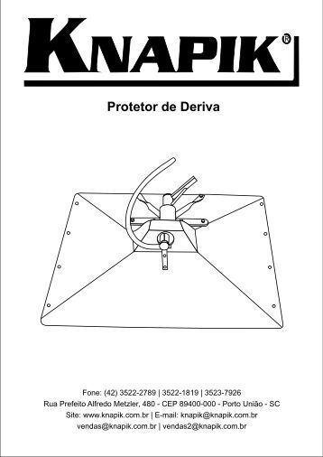 Protetor de Deriva - Pulverizador Manual Knapik