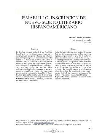 10 Jonathan Briceño.indd - Saber ULA - Universidad de Los Andes