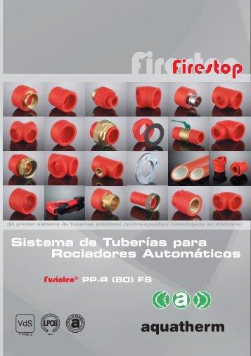 Catálogo Sistema de Tuberías para Rociadores Automáticos