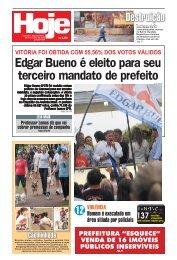 Edgar Bueno é eleito para seu terceiro mandato de ... - Jornal Hoje
