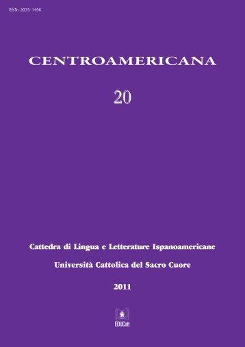 CENTROAMERICANA - EDUCatt