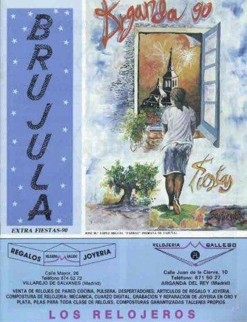 """Revista """"Brújula"""" (1988-1992) - Archivo de la Ciudad de Arganda ..."""