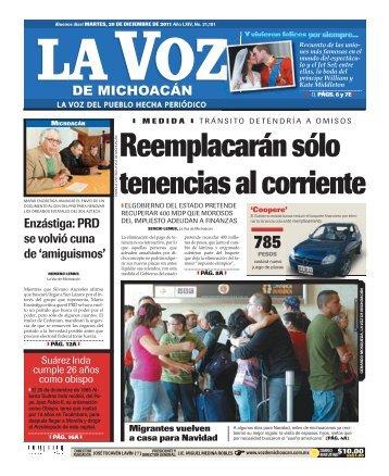 morelia - La Voz de Michoacán