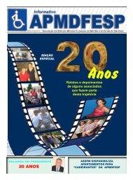 20 ANOS - APMDFESP