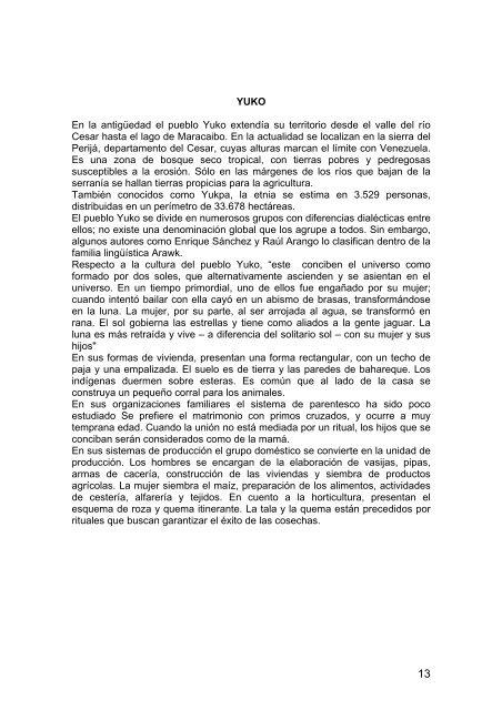 población indígena p.. - Agora.unalmed.edu.co