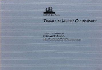 Flores Muñoz, Antonio José: Soledad sucesiva, sobre un poema de ...