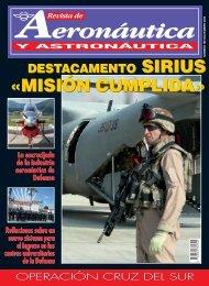 revista de aeronáutica y astronáutica nº 788 - noviembre 2009
