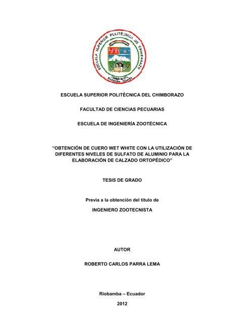 1 Dspace Chimborazo Superior Politécnica Del Espoch Escuela Y76bgyf