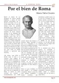 Junio Bruto, Marco Antonio, Tulio Ciceron... - La RomaPedia - Page 6