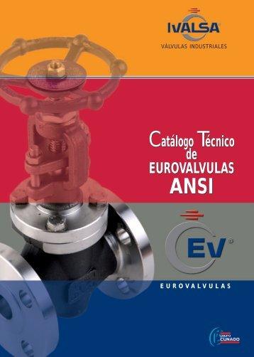 Catálogo Válvula de Fundición Norma ANSI | PDF - Ivalsa