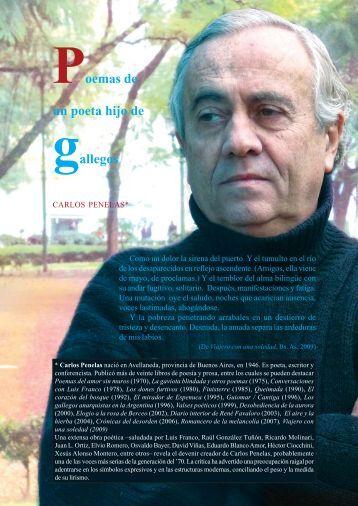 Poemas de un poeta hijo de gallegos - Anuario Brigantino - betanzos