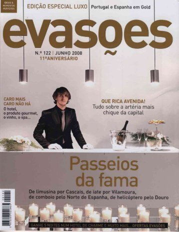 EmÇÃo ESPECIAL Luxo Portugal e Espanha em sad - vantag