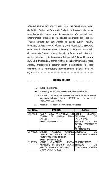 texto completo - Poder Judicial del Estado de Coahuila