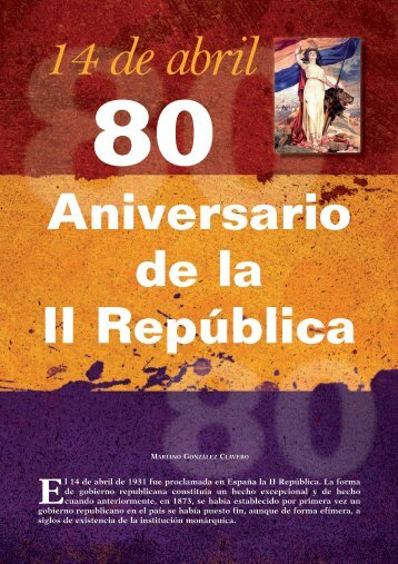 80 Aniversario de la II República - ares enyalius