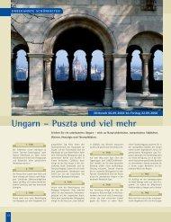 Ungarn – Puszta und viel mehr