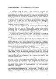 A Arte de Amar (trechos) - Erich Fromm - Sala de Estudos