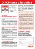 Folheto do PCP - Partido Comunista Português - Page 4